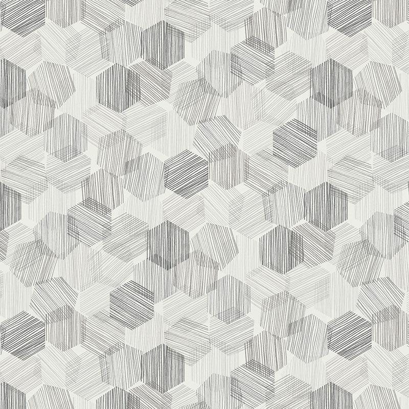 Roller_Swatch_Hexagon_Grey_RE81111